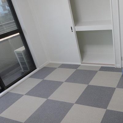 子供部屋DIY全面リフォーム完成!(床タイルカーペット)
