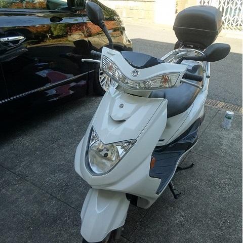 バイク シグナス125cc オイル交換 自分でやってみた