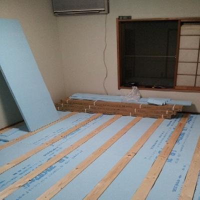 和室を洋室にリフォーム!畳からフローリングDIY